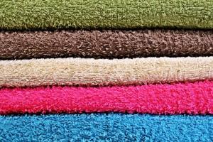 asciugamani con ammorbidente