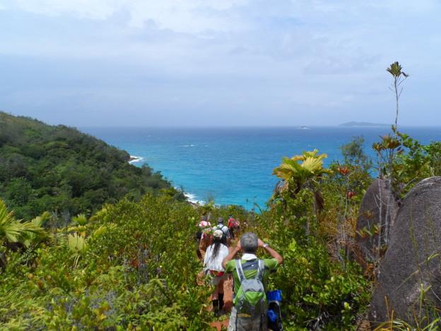 Seychelles trekking