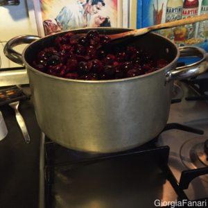 marmellata di ciliegie COTTURA
