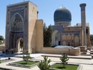 Uzbekistan Mausoleo, Samarcanda