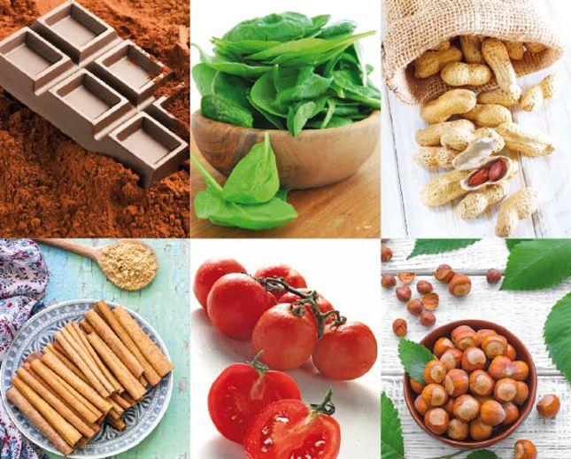 cibo contenente nichel