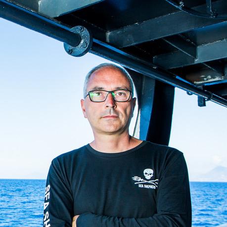 Andrea Morello Sea Sheperd